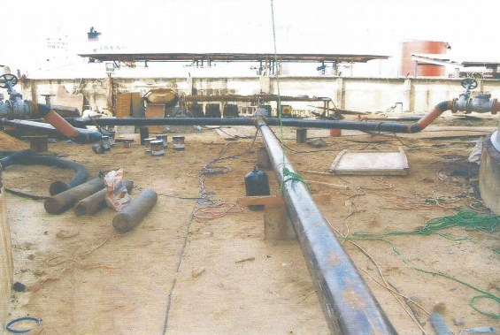 Fabrication, Erection, Construction & Installation work on Tank Farms And Pipelines