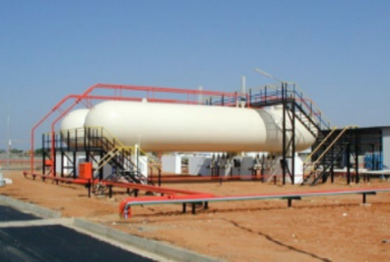 Installation of LPG Bulk Storage Tanks
