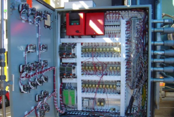 Electrical Installation of Control Panel on Plant Equipment