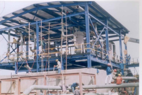 Construction and Erection of Refinery Depot